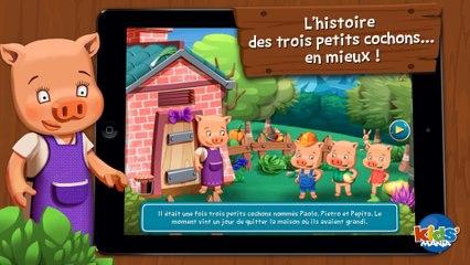 KIDS MANIA - LES 3 PETITS COCHONS (CHERCHE et TROUVE)- ANDROID APP IPHONE IPAD iOS GOOGLE PLAY