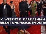Kanye West et Kim Kardashian méprisent une femme tombée à leurs pieds