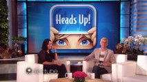 Courteney Cox Shows Off Her Friends Knowledge Show HD | TheEllenShow