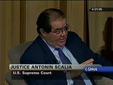 Justice Scalia on Cameras in the Court
