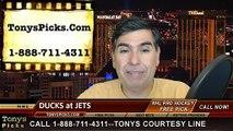 NHL Game 4 Free Pick Prediction Anaheim Ducks vs. Winnipeg Jets Odds Playoff Preview 4-22-2015