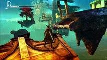DmC: Devil May Cry Gameplay Walkthrough - Easter Egg Mortal Kombat Scorpion + Street Fighter + Old Dante