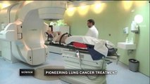 euronews science - Spanish doctors take aim at Lung cancer