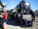 Royal Hudson 2860 steam train (Canada) 2006