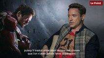"""Robert Downey Jr : """"Si Tony Stark avait les clés de la Maison-Blanche..."""""""