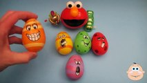 Kinder Surprise Egg Learn A Word! Spelling Play Doh Shapes! Lesson 6 Teaching Letters Opening Eggs