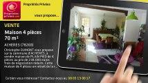 A vendre - maison - ACHERES (78260) - 4 pièces - 70m²