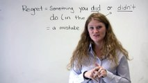 """English Speaking - Mistakes & Regrets (""""I should have studied"""" etc.)"""