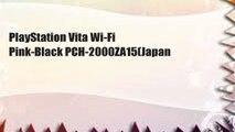 PlayStation Vita Wi-Fi Pink-Black PCH-2000ZA15(Japan