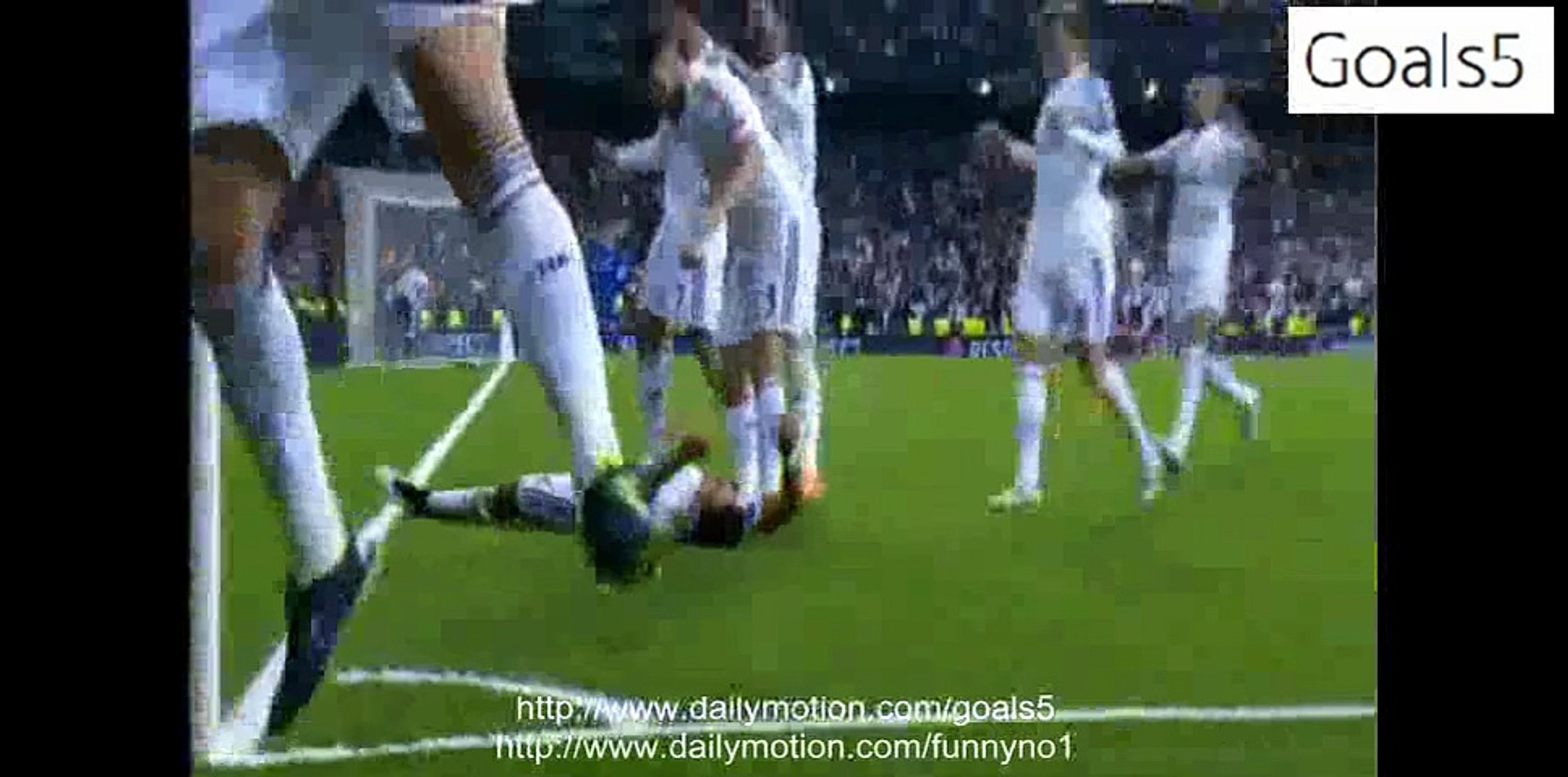 Javier Hernandez Chicarito Goal Real Madrid 1 - 0 Atletico Madrid Champions League 22-4-2015
