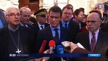 """Attentat déjoué à Paris : selon Manuel Valls, """"les catholiques de France étaient visés"""""""