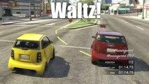 PS3 GTA 5 Online Adventures [24] FUNNIEST GTA RACE EVER! (HD 1080p Playstation 3 GTAV Gameplay)