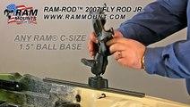 RAM-ROD™ 2007 Fly Rod Jr. Fishing Rod Holder