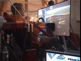Petter and Henning Solberg driving RBR on Force dynamics
