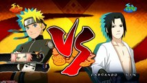 Naruto Ultimate Ninja Storm 2 1080p Boss 5 Sasuke Rank S | Naruto Sakura vs Sasuke Factor Secreto