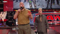 The Pittsburgh Steelers meet Big Show and Chris Jericho