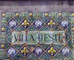 Die Wasserspiele der  Villa d'Este