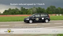 VW Golf Sportsvan - AEB Test 2014 - Video Dailymotion
