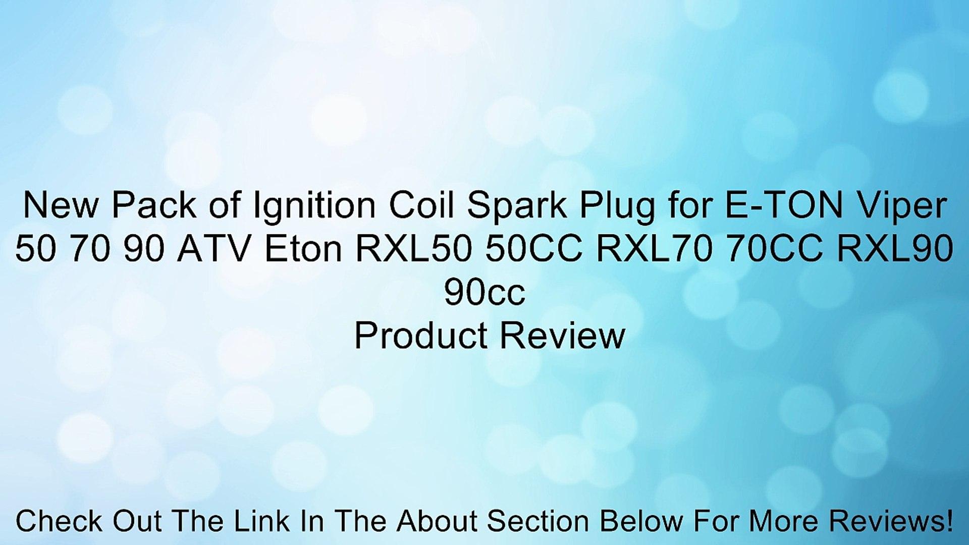IGNITION COIL FOR  ETON VIPER 50 70 90 ATV E-TON RXL50 RXL70 RXL90