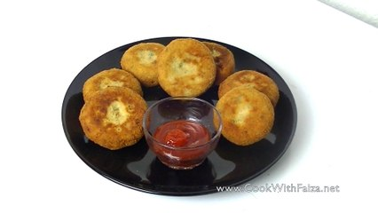CHICKEN WHITE SAUCE CUTLETS *COOK WITH FAIZA*
