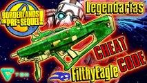 Borderlands The PreSequel  Guía de armas Legendarias  Subfusiles  Cheat Code