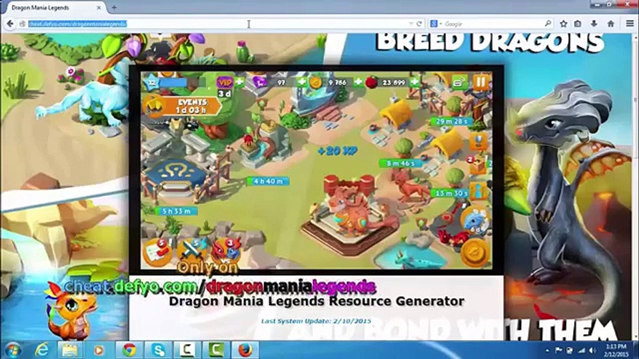 Dragon Mania Legends Hack Cheat Tips For Coins Food and Gems480p11