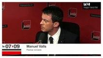 """Manuel Valls : """"Cinq attentats ont été déjoués"""" depuis janvier"""