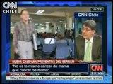 Entrevista al ginecólogo oncológico Mario Pardo, en torno al cáncer de mama - CNN CHILE 2011