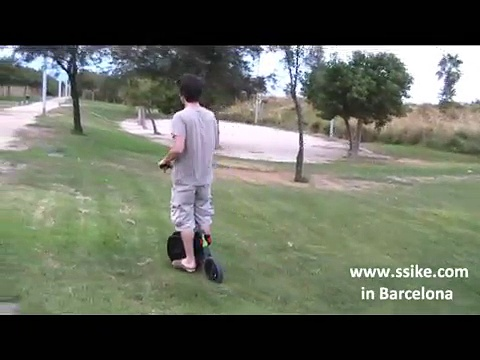SSIKE single person electric vehicle
