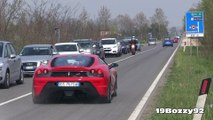 180+ Supercars Accelerating - EB110 GT, Huracan, Carrera GT, 599 GTO & More