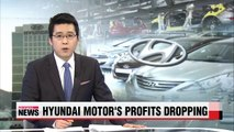 Hyundai Motor's Q1 profits drop from last year