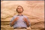 Carl Sagan explains cosmic rays and neutron stars