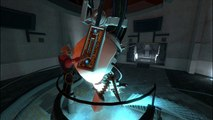 The Announcer Bakes GLaDOS at 372 Degrees