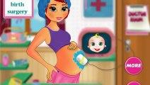 Césarienne chirurgie de naissance jeu de naissance de bébé