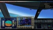 FSX Flight Simulation X Crosswind ILS Landing Exeter Airport