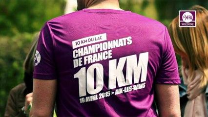 Championnats de France du 10 km Aix-les-Bains 2015