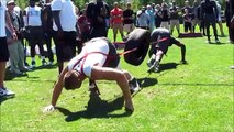 Nike Football: The Opening - Ndamukong Suh helps coach top high-school prospects at Nike WHQ