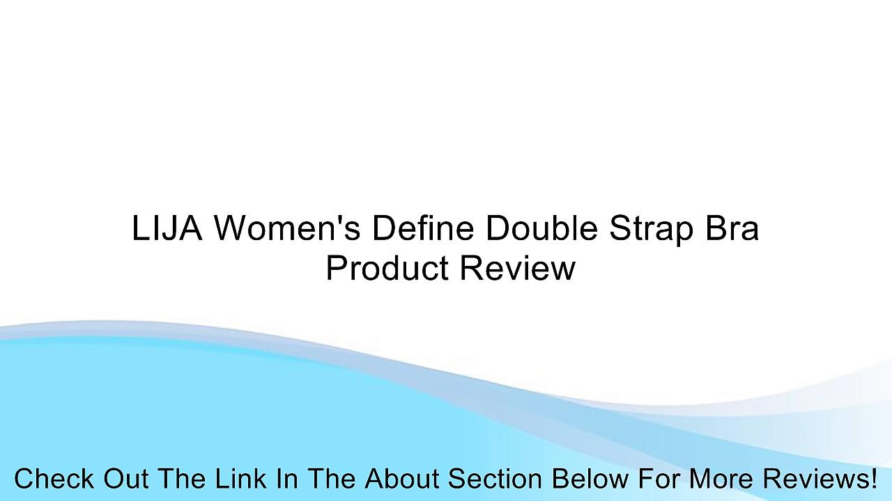 LIJA Women's Define Double Strap Bra Review