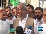 JI was Contesting Election against MQM not against PTI: Rashid Naseem