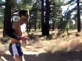 31 mile marathon training run with Josh Cox and Ryan Hall in Mammoth Lakes