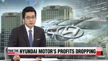 Hyundai Motor's Q1 profits drop