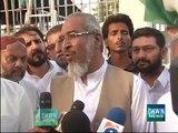 JI was Contesting Election against MQM not against PTI- Rashid Naseem