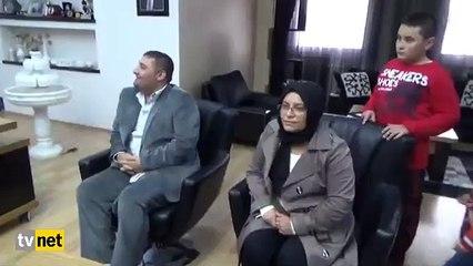 Şehit ailesine evini bağışlayan gurbetçiden Erdoğan'a övgüler