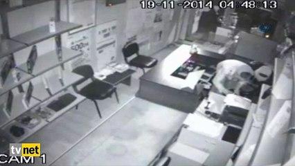 Konya'nın şaşkın hırsızları kamerada