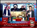 NA-246 By-Election Special Transmission on Ary News - 07 pm to 08 pm - 23rd April 2015