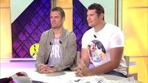 Vincent Parisi Plateau émission avec Jerome Rothen sur Beinsports dans L'expresso en mode Full Contact.