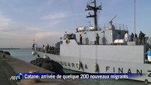 Immigration: 220 immigrés débarquent à Catane