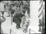 1945 Armistice Day at Arlington Cemetery; Jet Record 1945/11/13