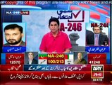 NA-246 By-Election Special Transmission on Ary News - 10 pm to 11 pm - 23rd April 2015