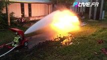 Lance Pompier VS Lance Flamme
